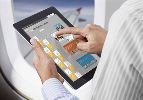 Tablet On Airplane -Timeline -960